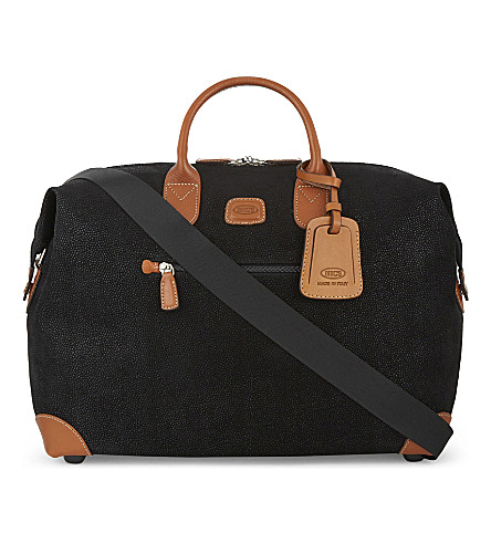 BRICS Life clipper small holdall (Black