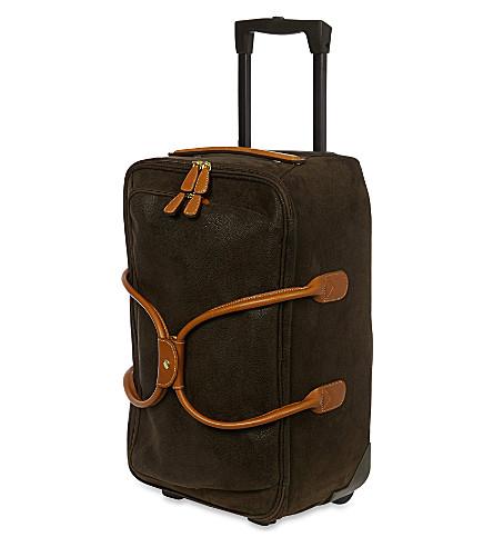 BRICS Life wheeled duffle bag (Olive