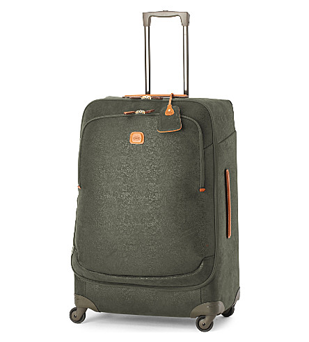 BRICS Life Thermoform four-wheel suitcase 82cm (Olive