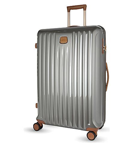BRICS Capri four-wheel trolley suitcase 78cm (Grey