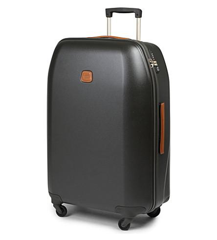 BRICS Sintesis four-wheel suitcase 78cm (Olive