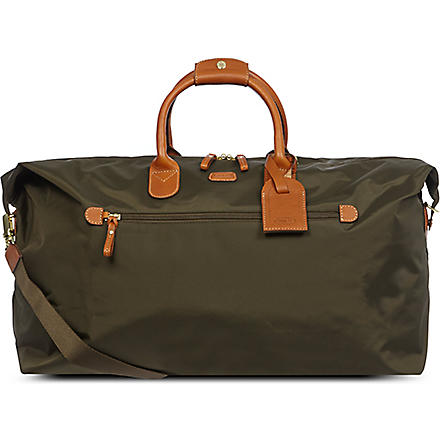BRICS X travel holdall (Olive