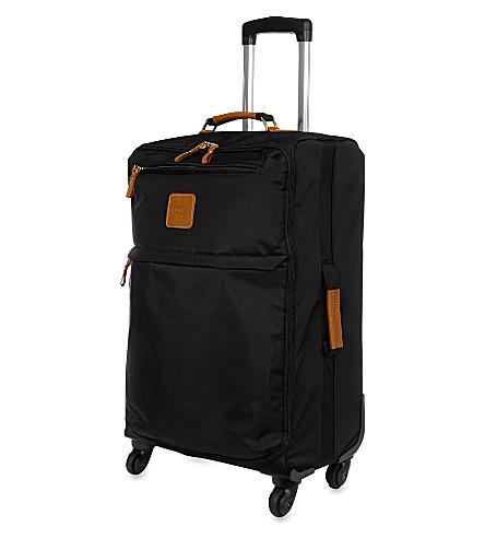 BRICS X- travel four-wheel suitcase 65cm (Black