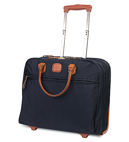 BRICS X travel business briefcase (Ocean+blue