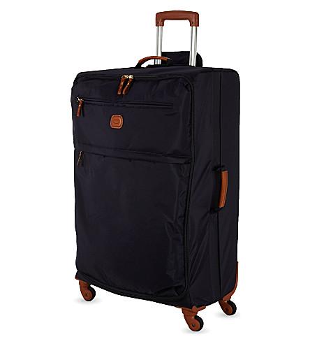 BRICS X-Travel four-wheel suitcase 77cm (Black