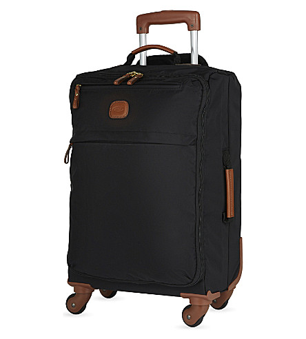 BRICS X-Travel four-wheel suitcase 55cm (Black