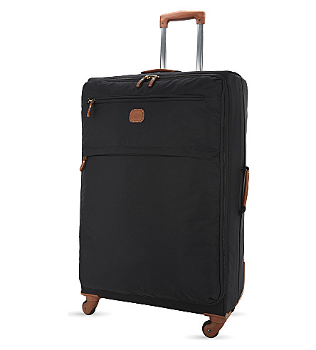 BRICS X-Travel four-wheel suitcase 77cm (Black