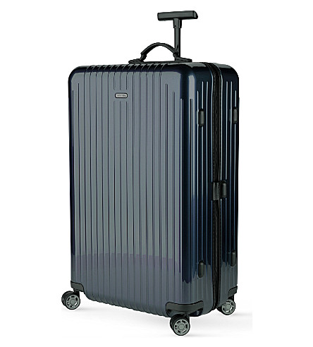 RIMOWA Salsa Air four-wheel spinner suitcase 77cm (Navy+blue