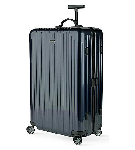 RIMOWA Salsa Air four-wheel spinner suitcase 77cm (Navy+blue