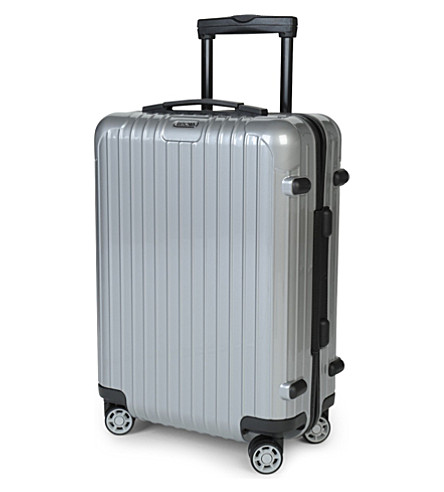 Rimowa Salsa Four Wheel Cabin Trolley 55cm Silver