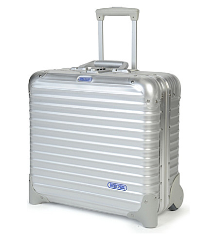 RIMOWA Topas two-wheel business trolley 42cm (Silver