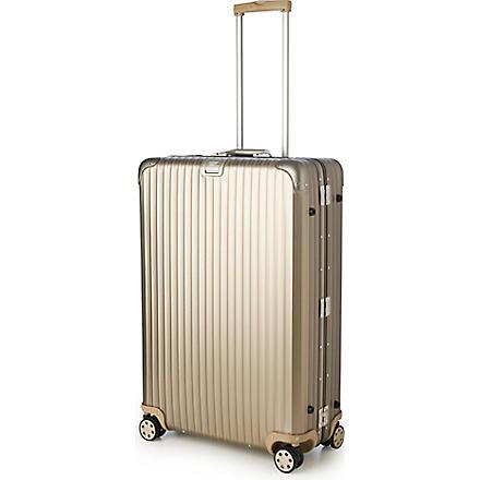 RIMOWA Topas Titanium four-wheel suitcase 81.5cm (Titanium