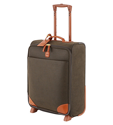 BRICS Life trolley carry on suitcase 50cm (Olive