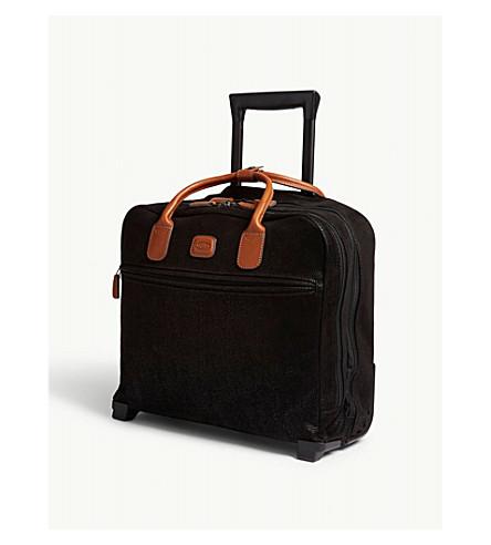 BRICS BRICS pilot two wheel cabin trolley suitcase 40.5cm (Black