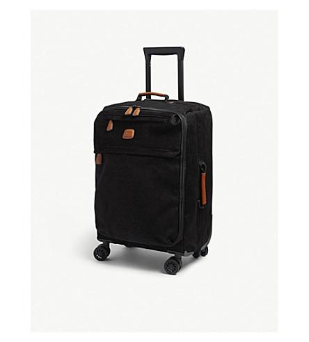 BRICS Life four wheel cabin suitcase 55cm (Black