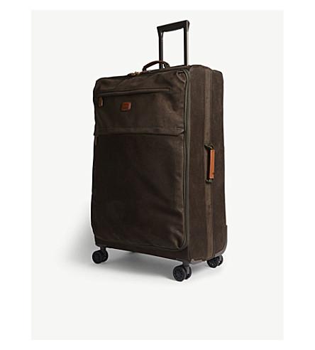 BRICS Life four wheel suitcase 77cm (Olive
