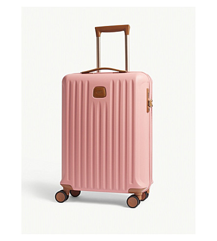 BRICS Capri four-wheel cabin suitcase 55cm (Pink