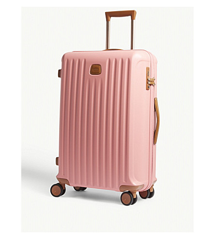 BRICS Four-wheel spinner suitcase 72cm (Pink