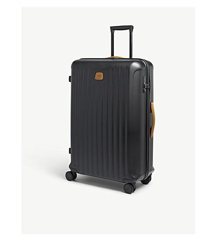 BRICS Four-wheel spinner suitcase 80cm (Black+matt