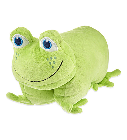 GO TRAVEL Folding frog pillow (Green