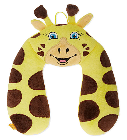 GO TRAVEL Giraffe neck pillow (Yellow