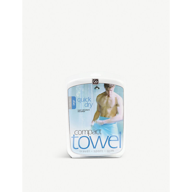 GO TRAVEL | Go Travel Large Compact Towel, Blue | Goxip