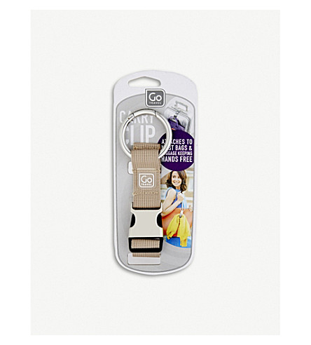 GO TRAVEL Carry Clip (Grey+beige+purple