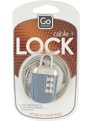 GO TRAVEL Link lock and cable
