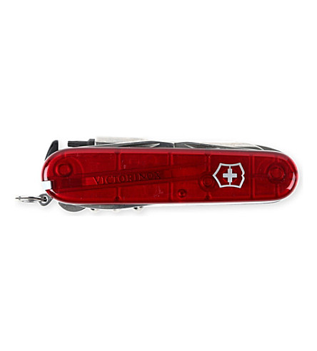 VICTORINOX CyberTool 34 Swiss Army pocket knife (Jelly+red