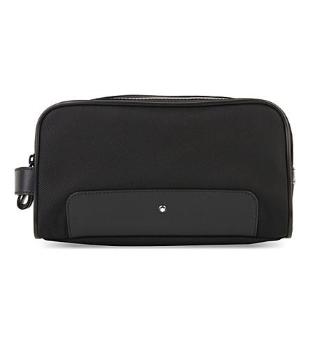 MONTBLANC Nightflight toiletry bag (Black