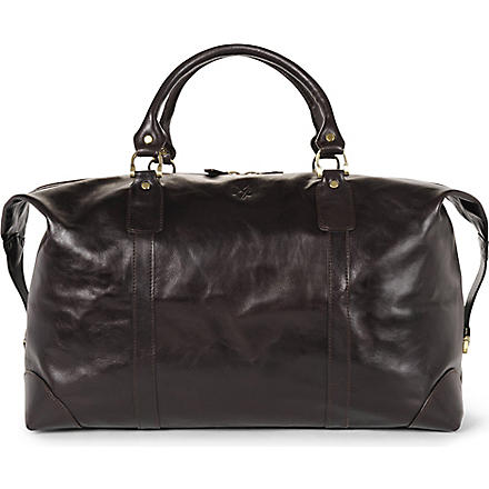 QUINDICI Large holdall (Brown