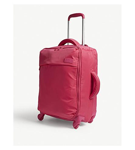 LIPAULT Originale Plume four-wheel cabin suitcase 55cm (Tahiti+pink