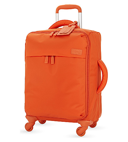 LIPAULT Originale Plume four-wheel cabin suitcase 55cm (Bright+orange