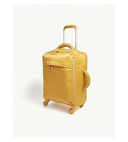 LIPAULT Originale Plume four-wheel cabin suitcase 55cm (Mustard