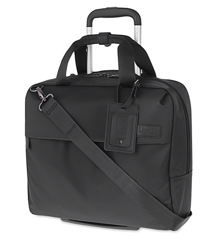 LIPAULT Plume Business case 39cm (Anthracite+grey