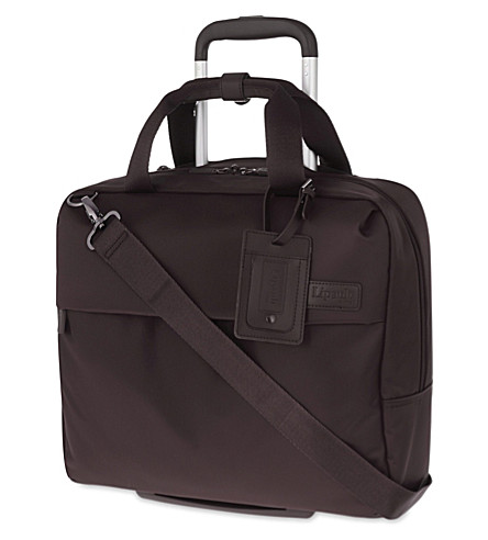 LIPAULT Plume Business case 39cm (Chocolate