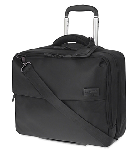 LIPAULT Plume Business rolling tote 45cm (Anthracite+grey
