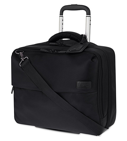 LIPAULT Plume Business rolling tote 45cm (Black