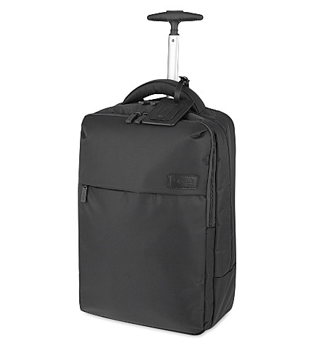 LIPAULT Plume Business two-wheel laptop backpack 47cm (Anthracite+grey