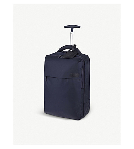 LIPAULT Plume Business two-wheel laptop backpack 47cm (Navy