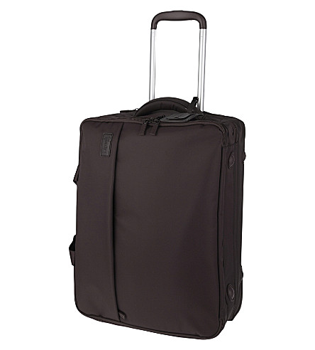 LIPAULT Plume Business two-wheel cabin suitcase 53cm (Chocolate