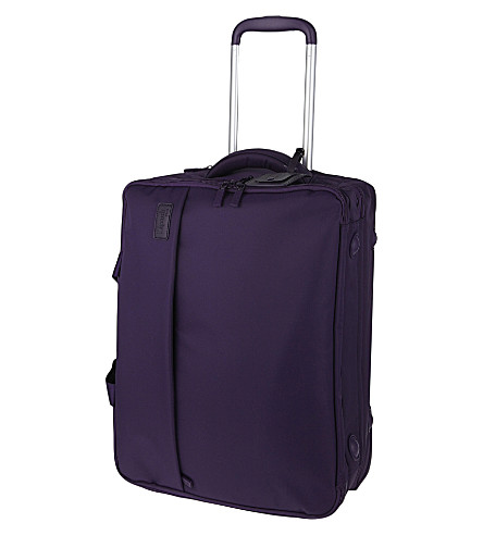 LIPAULT Plume Business two-wheel cabin suitcase 53cm (Purple