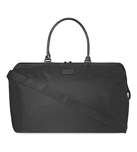 LIPAULT Lady Plume weekend bag (Anthracite+grey