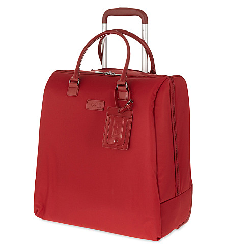 LIPAULT Lady Plume rolling tote 42.5cm (Ruby