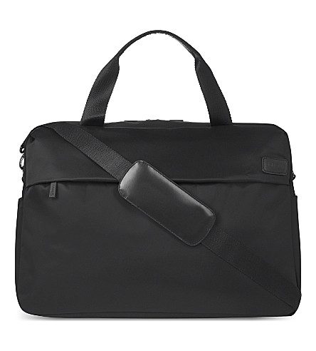 LIPAULT City plume duffle bag (Anthracite+grey