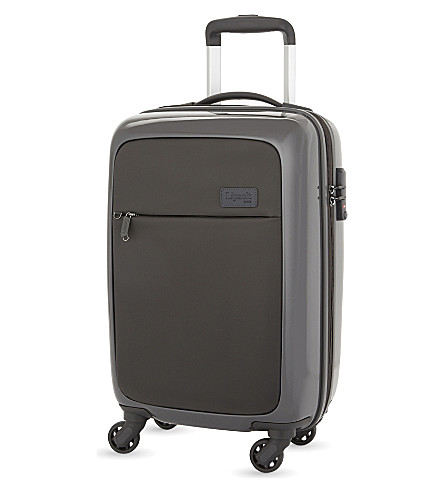 LIPAULT Plume Duo cabin suitcase 55cm (Anthracite+grey