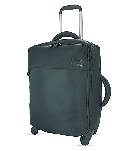 LIPAULT Original Plume four-wheel cabin suitcase 55cm (Forest+green