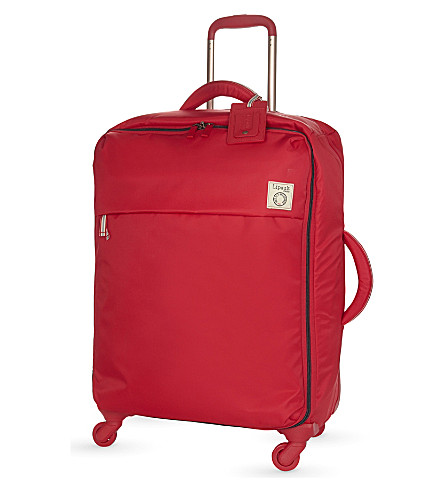 LIPAULT Inès de la Fressange four-wheel suitcase 65cm (Red