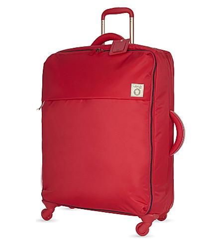 LIPAULT Inès de la Fressange four-wheel suitcase 72cm (Red