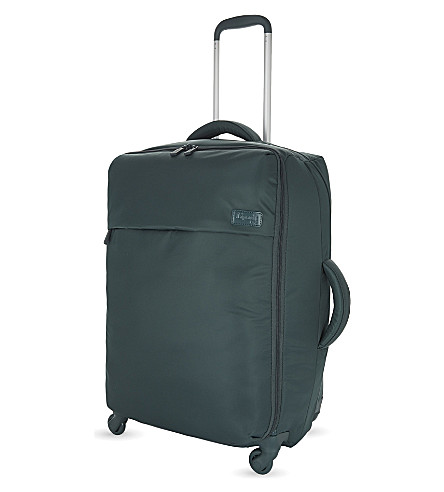 LIPAULT Four wheel trolley suitcase 65cm (Forest+green